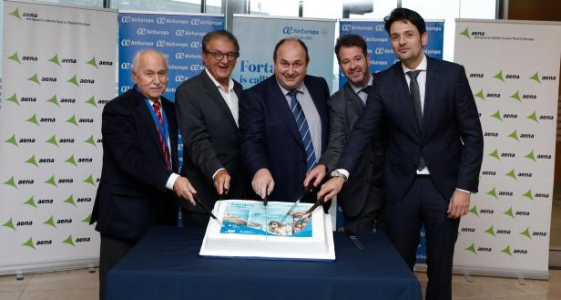 Inauguración del vuelo de Air Europa desde Madrid a Fortaleza