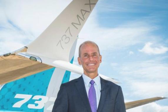 Dennis Muilenburg CEO de Boeing