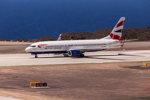 Boeing 737 British Airways Comair