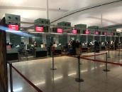 emirates dubai barcelona ciudad de mexico vuelo inaugural mostradores de check in
