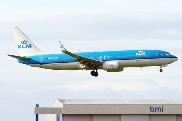 KLM Boeing 737-800 NG
