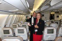 Plus Ultra cabina interior Airbus A340-600