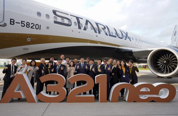 Starlux Airlines Airbus A321neo